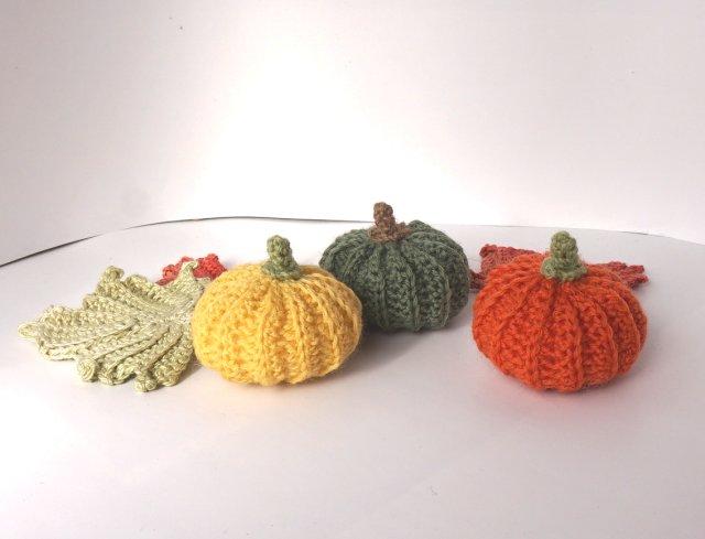 かぼちゃ,編み図,ハロウィーン,かぎ針編み,簡単